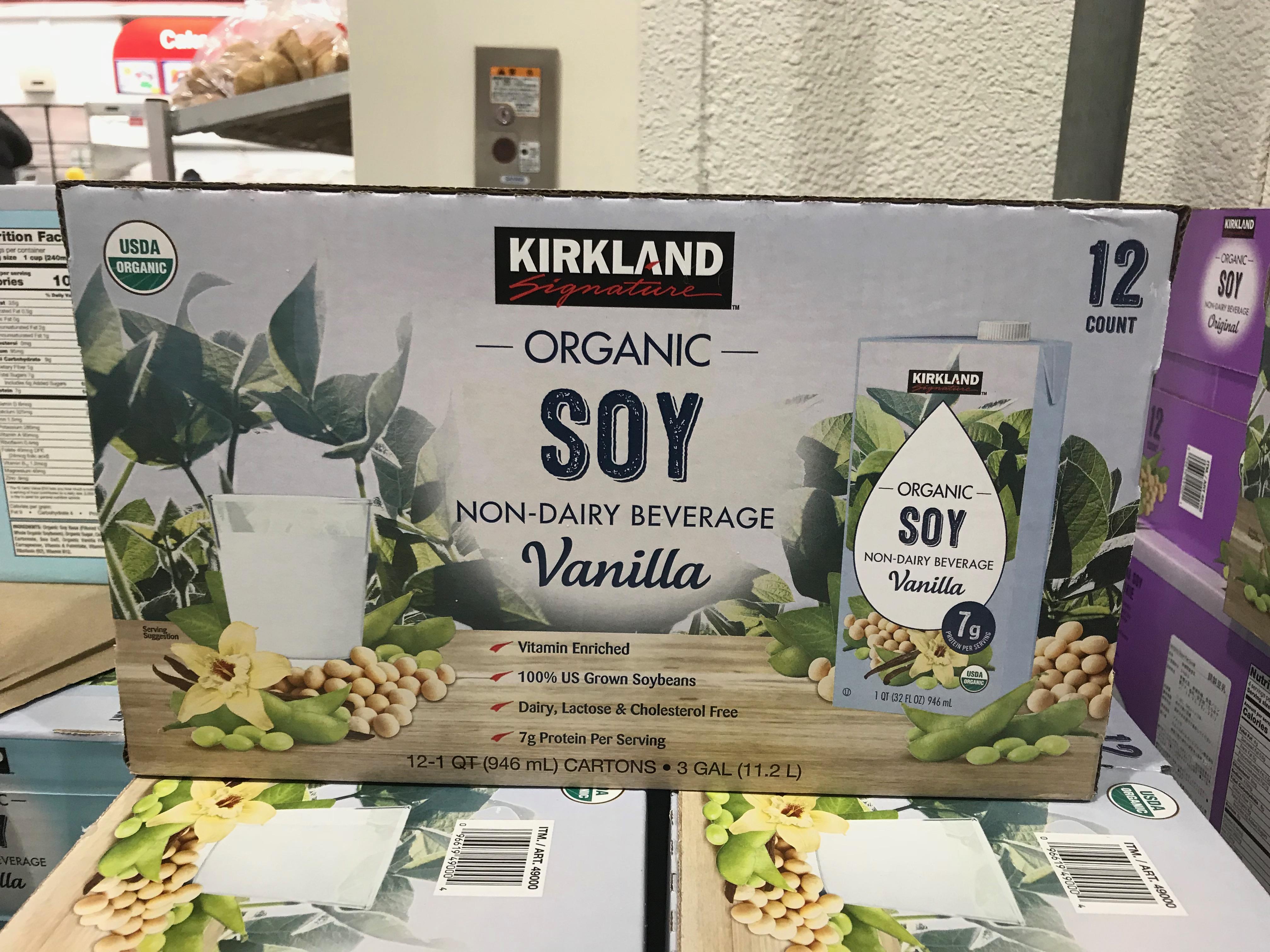 コストコ オーガニック豆乳バニラ値段