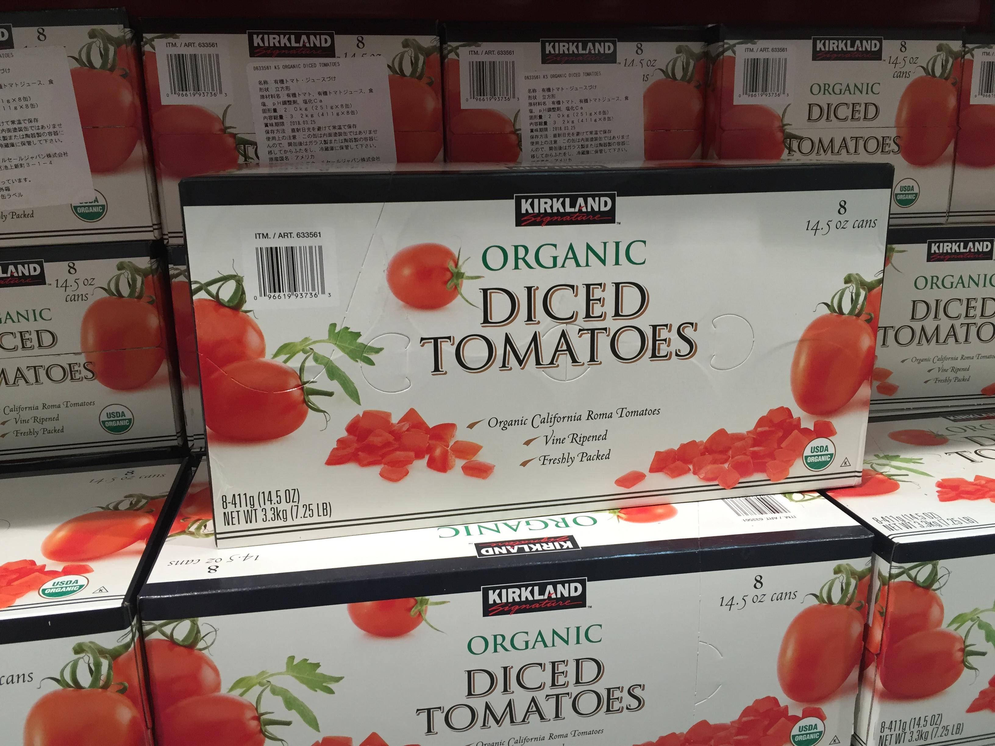 コストコ ダイストマト缶